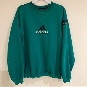 Vintage 1990s Adidas Equipment oversized pullover